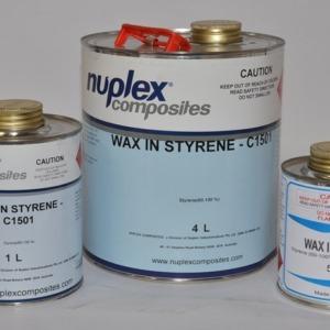 Wax-In-Styrene