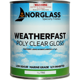 Weatherfast Poly Clear